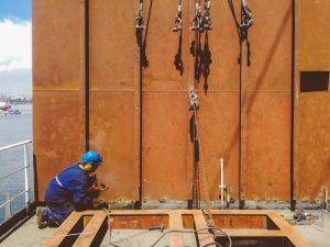 Shipyard Deckhouse Construction
