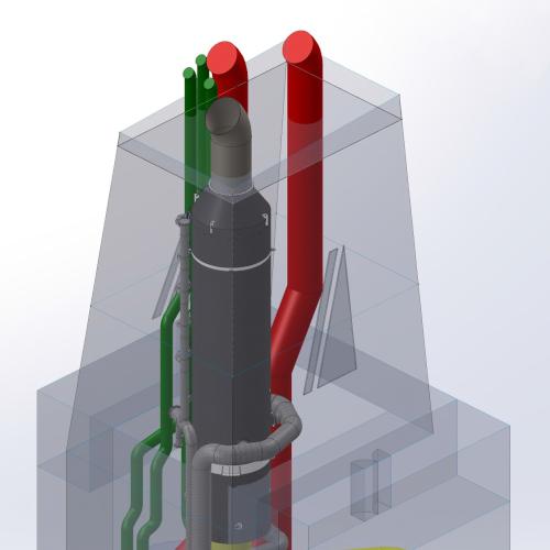 3D EGCS Model for Feasibility Study